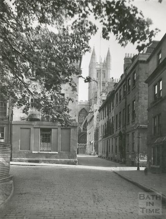 Abbey Green and Upper and Lower Church Street, c.1950s