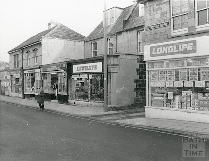 Shaftesbury Road, Oldfield Park, 1972