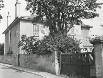 Belmont House Belmont Road Combe Down Bath 1973 By