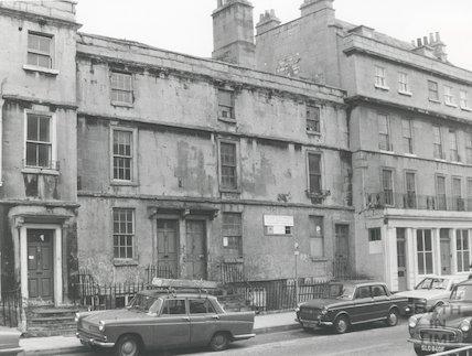 Monmouth Street, Bath, 1975