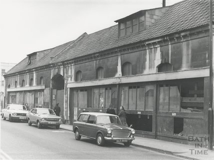 Monmouth Place, Bath, 1977