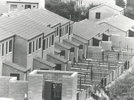 Penn Hill, Penn Lea Road Council Estate, Weston, 22 June 1979