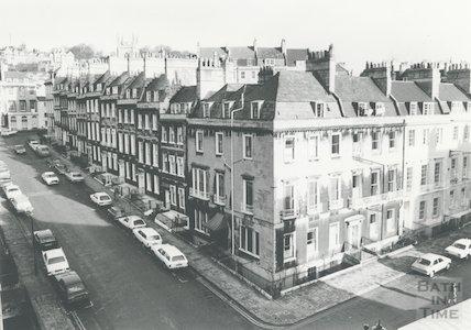 Russell Street, Bath, 27th January 1981