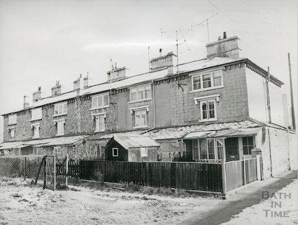 1-6 Rackfield Place, Lower Bristol Road, Bath, February 1978