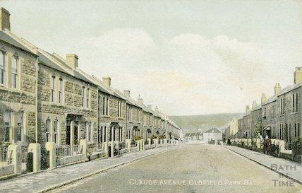 Claude Avenue, Oldfield Park, c.1920s?
