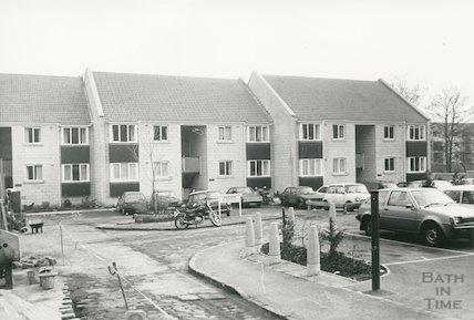 Bedford Court off London Road, Bath, 1985