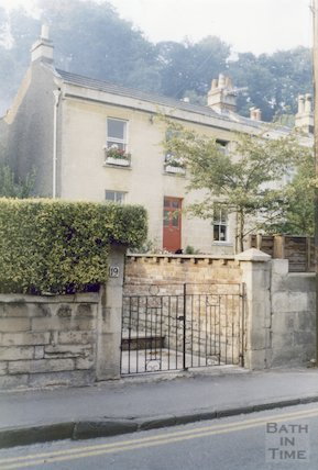 19 Prospect Place, Camden Road, Bath, 1985