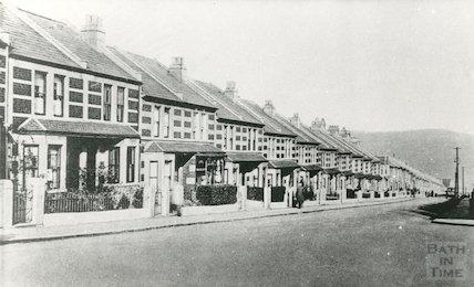 Sladebrook Avenue, Southdown, Bath, c.1910?