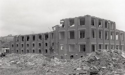 Bath Cabinet Makers Factory Demolition Site, Lower Bristol Road, 22nd June 1994