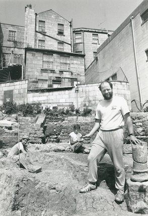 Walcot Street archaeological dig of Roman Remains, 23rd May 1992
