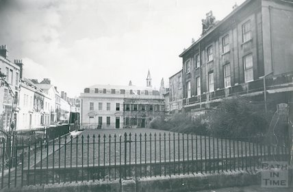 5, Beauford Square during restoration, c.1965