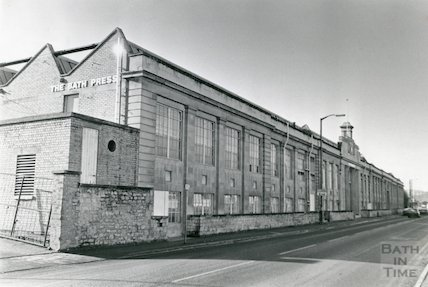 The Bath Press, Lower Bristol Road, 9th February 1988