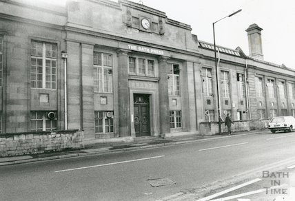 The Bath Press, Lower Bristol Road, 30th October 1990