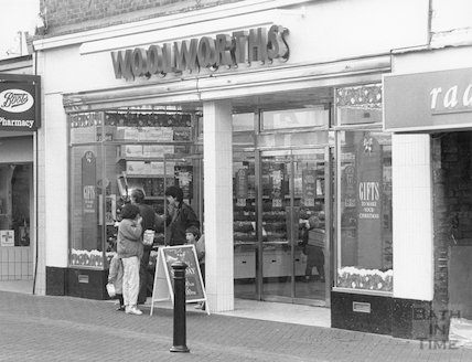 Woolworths, Moorland Road, Oldfield Park, Bath, 9th December 1990