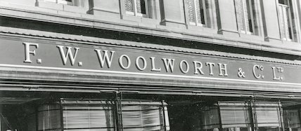 F. W. Woolworth & Co. Ltd. Stall Street, Bath, c.1960s