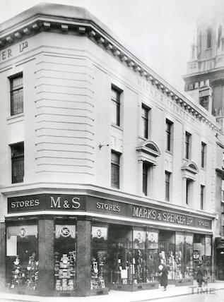 Marks & Spencer, 16 and 17 Stall Street, c.1940s