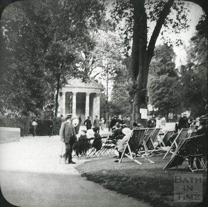 The bandstand at Sydney Gardens, Bath c.1910