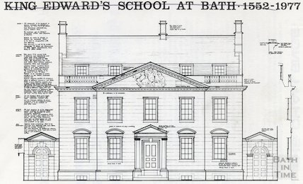 Booklet regarding the King Edward's School at Bath 1552-1977 Restoration Fund, 31st October 1977