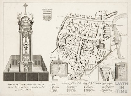 Copy of Ancient Plan of the City of Bath from Guidot 1791