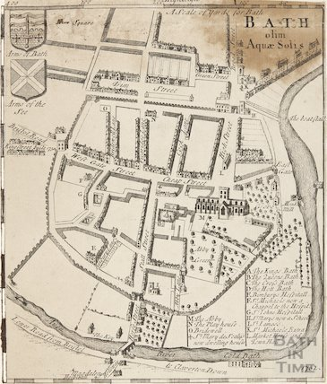 Map of Bath olim Aqua Solis 1732
