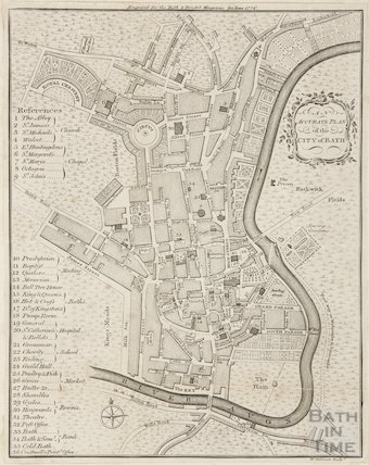 Copy of Accurate Plan of Bath 1776