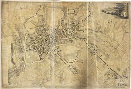 Plan of the City of Bath for the Right Honourable The Recorder and the Honourable Representatives of the Gentlemen of the Corporation of the City of Bath 1794