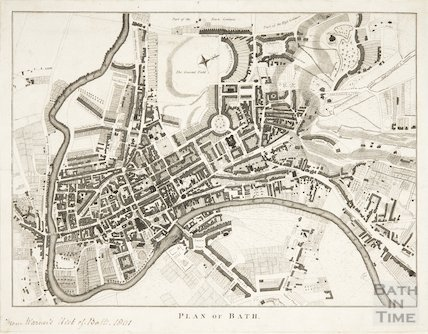 Plan of Bath 1801