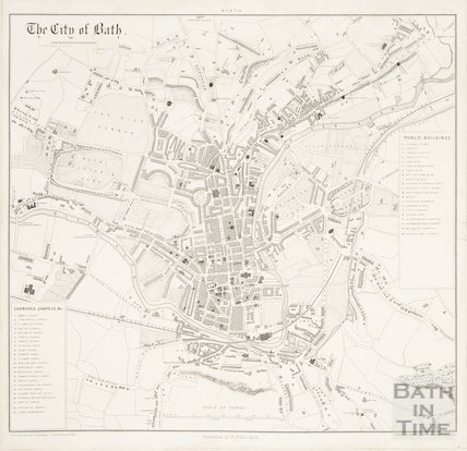 The City of Bath 1862