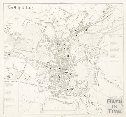 The City of Bath 1863
