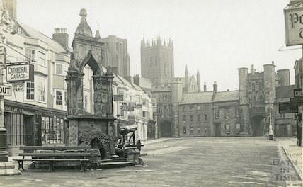 Market Place, Wells, Somerset, c.1920s