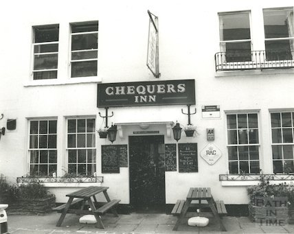 The Chequers Inn, Rivers Street, 16 October 1993