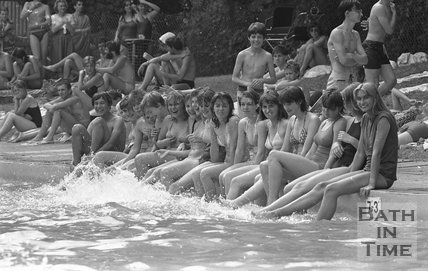 Summer Splash at the Cleveland Baths, 8 July 1983