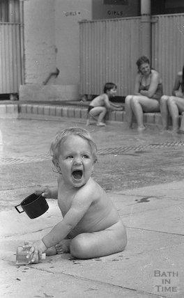 Summer Splash at the Cleveland Baths, 8 July 1983
