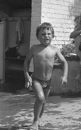 Cleveland Baths frolics, 27 July 1979