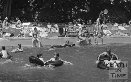 Cleveland Baths frolics, 27 July 1979