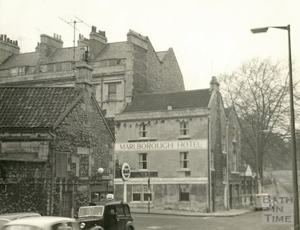 The Marlborough Tavern, Marlborough Lane, Bath c.1940s?