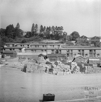 The construction of the Whitewells Estate, Larkhall, 20 May 1971