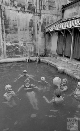 The Bath Swimmers in the Cross Baths, 5 May 1978