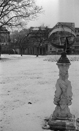 Parade Gardens in the winter, 21 December 1978