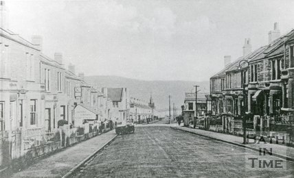 Coronation Avenue, Oldfield Park, Bath, c.1900