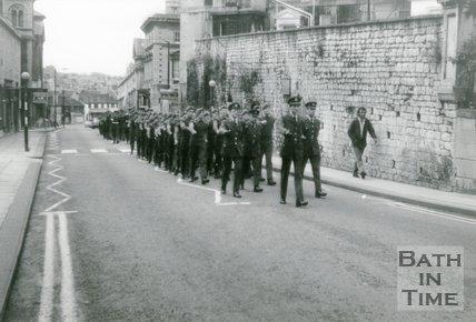 RAF Parade, Charlotte Street, Bath, c.1960s/