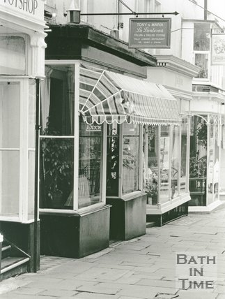 La Lanterna Restaurant, 4 Saville Row, Bath, May 1991