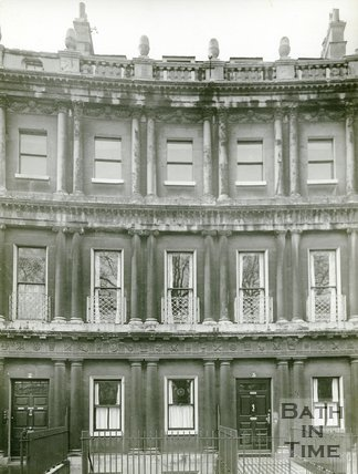 Nos 2 and 3 The Circus, Bath, c.1930s