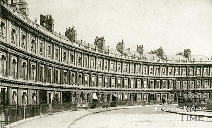 The Circus, Bath, c.1915