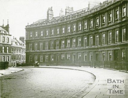 The Circus, Bath, c.1890