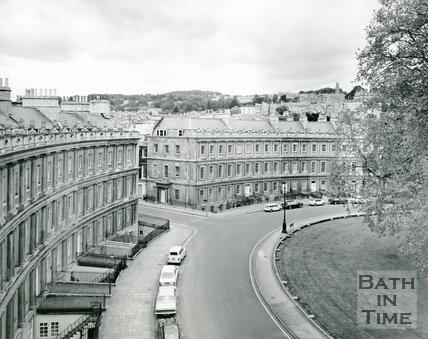 The Circus, Bath, 1975/6