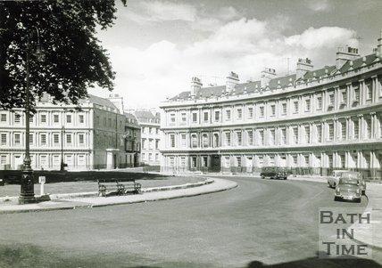 The Circus, Bath, c.1970s
