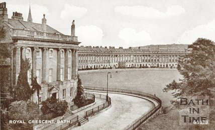 Royal Crescent, Bath, c.1920s