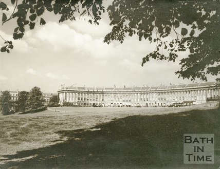 Royal Crescent, Bath, c.1930s