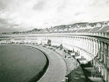 The Royal Crescent, Bath, 1969